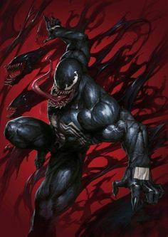 Venom Supersonic Comics Exclusive Virgin Variant Cover by SKAN Venom Comics, Marvel Venom, Marvel Villains, Marvel Characters, Hq Marvel, Marvel Comics Art, Marvel Heroes, Rogue Comics, Hulk