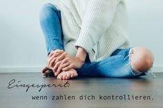 """""""Eingesperrt - wenn Zahlen dich kontrollieren"""" ein Blogbeitrag über Sport, gutes Essen und der Sucht nach Perfektion. von herzensfreundinnen.de"""