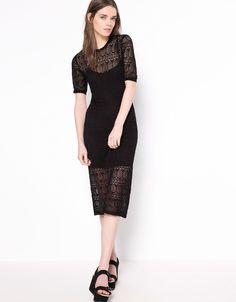 Bershka layered dress - Dresses and jumpsuits - Bershka United Kingdom