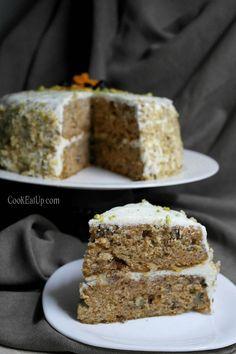 Κέικ καρότου, το αγαπημένο της Αριάδνης ⋆ Cook Eat Up! Cooking Cake, Carrot Cake, Sweet Recipes, Carrots, Cheesecake, Food And Drink, Lemon, Desserts, Fruit Cakes