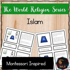 Develop your students knowledge about  Islam with these Montessori inspired 5 part cards.   This activity has been designed as an introduction to this religion. It is not a comprehensive discussion of all elements and beliefs.  This activity has been designed to help children develop religious literacy and tolerance.