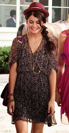 Sage (Sofia Black-D'Elia) wears a Ditsy dress. http://TreyPeezy.com http://twitter.com/treypeezy