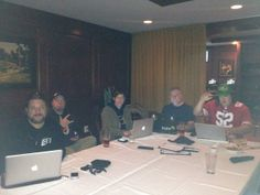 The Crew Live Tweeting Finding Bigfoot, Conference Room, Live