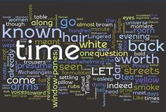 The Lovesong of J. Alfred Prufrock by T.S. Eliot via Wordle