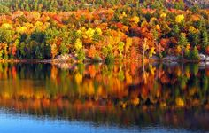 Autumn on Lake George - my favorite time of year in the Adirondacks! MV