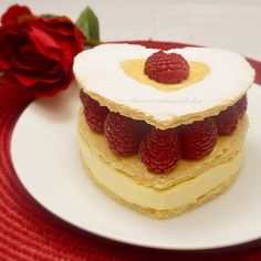Need a little inspiration for a Mothers Day dessert then head to my website for this delicious dessert http://lusciouscakesandbakes.com/recipe/raspberry-white-chocolate-millefeuilles/