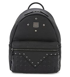 MCM M Moment Small Backpack. #mcm #bags #leather #backpacks #