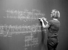 Liz Collini - Meticulous Blueprint Chalk Typography