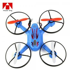 Mould King X6 - 33023 2.4GHz 4 CH 6 Axis LCD 3D Remote Control Quadcopter Blue