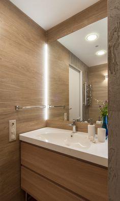 Фото из статьи: Квартира-студия: 40 метров, кровать в нише и много простора