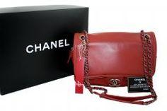 CHANEL Double Chain Red Flap Bag Orijinal ikincl el çantalarınız alınır-satılır. 02163805071 Double Chain, Luxury Bags, Watches, Red, Wrist Watches, Tag Watches, Watch, Rouge