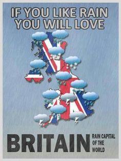 Britain: Rain Capital of the World