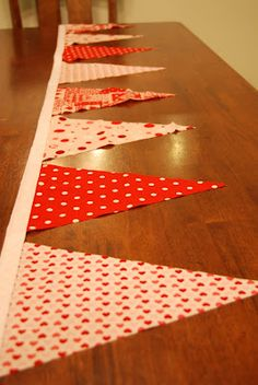 DIY Craft | Festive Fabric Flag Banner Tutorial | Life in Liberty Canyon