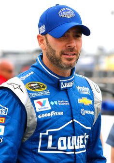 Jimmie Johnson Photos - Kansas Speedway - Day 2 - Zimbio