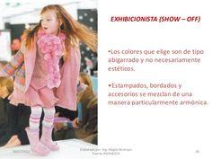 EXHIBICIONISTA (SHOW – OFF)  •Los colores que elige son de tipo abigarrado y no necesariamente estéticos. •Estampados, bor... Fur Coat, Kimono Top, Jackets, Tops, Women, Fashion, Perms, Fur, Elegant