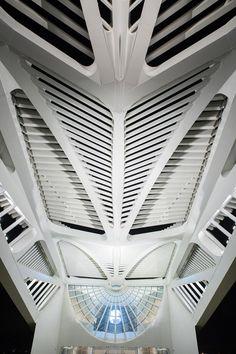 Museu do Amanhã por Santiago Calatrava. Fotografía @ Thales Leite.