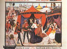 MINIATURIST, Flemish  Story of Alexander the Great  1450-90  Illumination on parchment  Bibliothèque Nationale, Paris