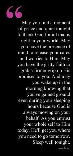 Evening Prayer | Susie Larson