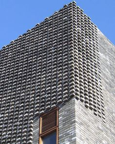 Facade Tetris: The Luminous And Textured Potential of Brick - Architizer Detail Architecture, Brick Architecture, Contemporary Architecture, Brick Design, Facade Design, Exterior Design, Brick Masonry, Brick Facade, Brick Wall