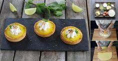 Se você é fã de um Mojito que tal experimentar estas tortinhas que lembram o mesmo sabor, hem? Vamos inovar em confeitaria?