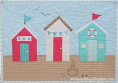 Ahhh...Quilting - I like the quilting in the sky in this one
