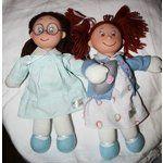 violet pickles doll   ... Image 1 EJ Taylor Ivy Cottage Dolls Ruby Buttons/Violet Pickles