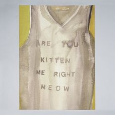 Victoria Verbaan - Right Meow - Print