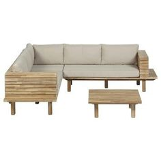 Pallet Patio Furniture, Pallet Sofa, Backyard Patio Designs, Diy Patio, Diy Furniture Renovation, Outdoor Sofa, Outdoor Decor, Diy Sofa, Modern Patio