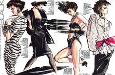 Ilustradores de Moda PARTE 1