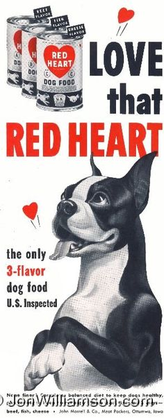 Red Heart Dog Food