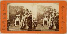 """J. Merrill & Son, """"Kiss Me First!"""", 1868-1878, Harvard Art Museums/Fogg Museum."""