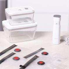ZWILLING Fresh & Save medium/large / 7-pc Vacuum starter set, Borosilicate glass | Official ZWILLING Shop