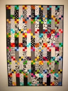 .: Scrappy Quilt finished