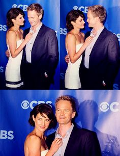 Cobie Smulders & Neil Patrick Harris. (Robin & Barney <3)