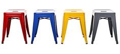 Tolix chose four new colors for it's iconic stool from Le Corbusier's colour chart. Which is your favourite?