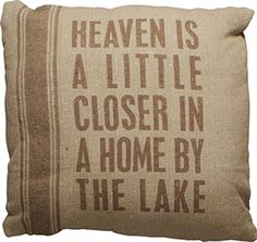 Pillow - By The Lake