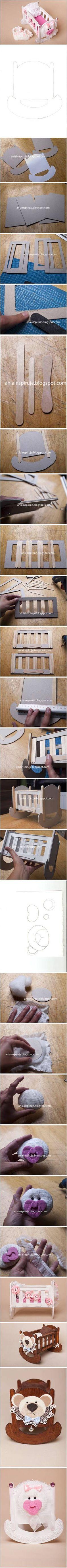 DIY Cartón cuna DIY Proyectos | UsefulDIY.com