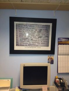 church office decorating ideas. Love This Idea! Picture.Print.Frame. Perfect Way To Keep 1st Things. Church  OfficeMy Church Office Decorating Ideas /