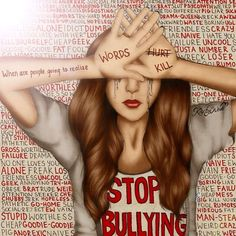 Stop Bullying | Kristina Webb | Instagram: @colour_me_creative