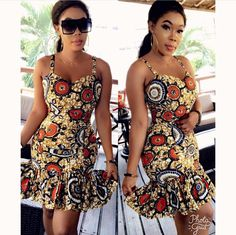 The complete pictures of latest ankara short gown styles of 2018 you've been searching for. These short ankara gown styles of 2018 are beautiful Short African Dresses, Ankara Short Gown Styles, Short Gowns, African Print Dresses, African Prints, African Fashion Designers, African Fashion Ankara, Latest African Fashion Dresses, African Print Fashion
