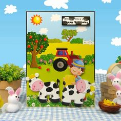Farmyard Friends | Hunkydory Crafts