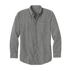 Eddie Bauer Men's Eddie's Favorite Flannel Relaxed Fit Shirt - Solid, Lt Htr Gra Eddie Bauer http://www.amazon.com/dp/B0183NZIYI/ref=cm_sw_r_pi_dp_KEKzwb14H5JXV