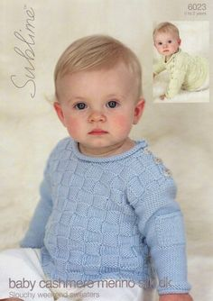 Slouchy Weekend Sweaters (birth - age 2)