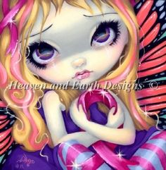 Jasmine Becket-Griffith's Faces of Faery 177. UFO stitched 1 over 1 28 count DMC linen.