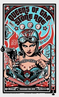 Queens of the Stone Age Poster