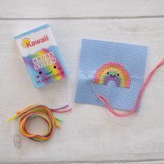 Kawaii Cross Stitch, Mini Cross Stitch, Cross Stitch Books, Simple Cross Stitch, Cross Stitch For Kids, Easy Cross Stitch Patterns, Cross Stitch Designs, Cross Stitching, Cross Stitch Embroidery