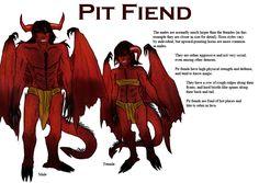 Demon species - Pit Fiend by Demireius.deviantart.com on @DeviantArt