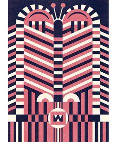 Beautiful patterns by Ben Newman