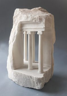 Matthew Simmonds Antique Carved Sculptures – Trendland Online Magazine Curating the Web since 2006 Crystal Garden, Modelos 3d, Marble Art, Art Carved, Stone Carving, Sculpture Art, Stone Sculptures, Modern Sculpture, Stone Painting
