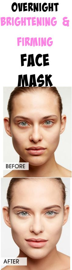 This overnight brightening & firming mask will make your skin look YEARS younger!